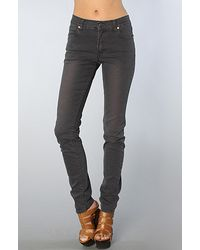 Cheap Monday The Tight Skinny Jean in Black Plum - Lyst