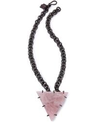 Kelly Wearstler -  Quartz Triangle Necklace - Lyst