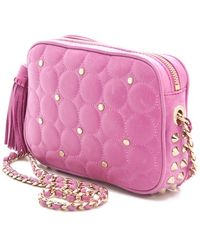 Rebecca Minkoff Polka Dot Quilted Flirty Bag - Lyst