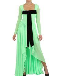 Maria Escoté Techno Jersey Long Dress - Lyst