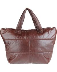 Vintage De Luxe - Large Leather Bag - Lyst