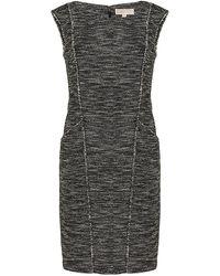 MICHAEL Michael Kors Tweed Dress - Lyst