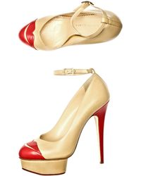 Charlotte Olympia Kiss Me Dolores Shoes - Lyst