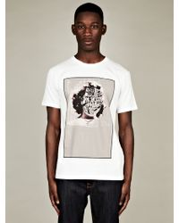 Marc Jacobs  Bäst Printed Face T-shirt - Lyst