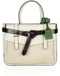 Reed Krakoff Boxer Leather and Calf Hair Tote - Lyst