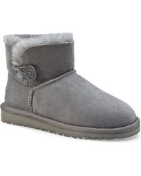 Ugg Boots Mini Bailey Button - Lyst