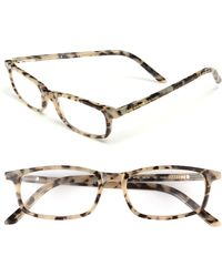 Kate Spade 'Jodie' 48Mm Reading Glasses - Milky Tortoise - Lyst