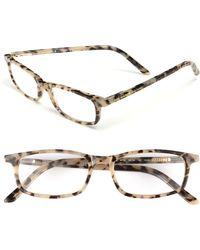 Kate Spade 'Jodie' 48Mm Reading Glasses - Milky Tortoise - Lyst