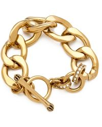 Juicy Couture - Chunky Link Bracelet - Lyst