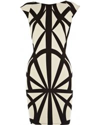 Oasis Tribal Bodycon Dress - Lyst