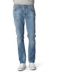 Nudie Jeans Grim Tim Jeans - Lyst