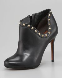 Schutz Studded Ankle Boot - Lyst