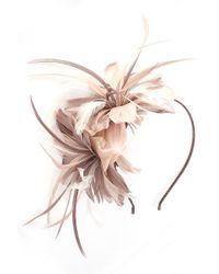 Alexon - Light Brown Feather Fascinator - Lyst