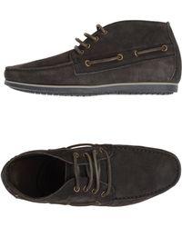 Lanvin Hightop Dress Shoe - Lyst