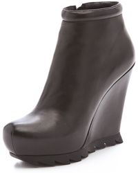 Camilla Skovgaard Wedge Saw Sole Booties - Lyst