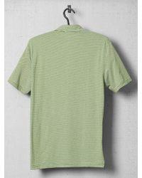 Michael Kors Stripe Contrast Detail Polo Shirt - Lyst