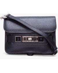 Proenza Schouler PS11 Black Mini Classic Bag - Lyst