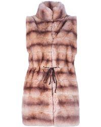 Vicedomini - Rabbit Fur Gilet - Lyst