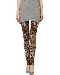 Dolce & Gabbana Leggings - Lyst
