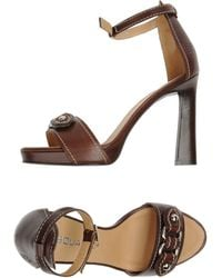 DSquared² Platform Sandals - Lyst