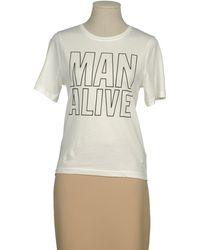 House of Holland Short Sleeve Tshirt - Lyst