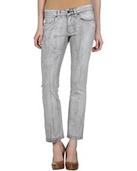 Stella McCartney Denim Pants - Lyst
