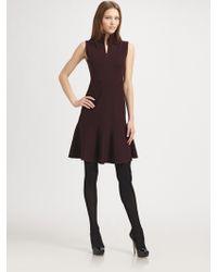 Akris Punto Wool Dress - Lyst