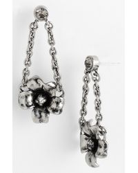 Marc By Marc Jacobs Flower Garland Drop Earrings - Lyst