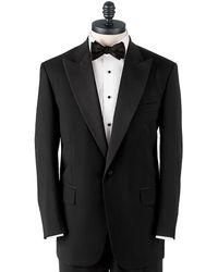 Brooks Brothers One-Button Peak Lapel Tuxedo Jacket - Lyst