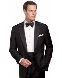 Brooks Brothers Wool Tuxedo Jacket - Lyst