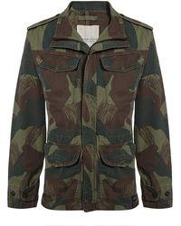 Denim & Supply Ralph Lauren - Camouflage Military Jacket - Lyst