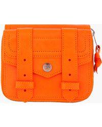 Proenza Schouler - Ps1 Small Orange Zip Wallet - Lyst