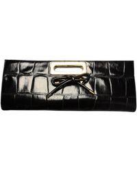 Viktor & Rolf Large Bow Clutch Bag Black - Lyst