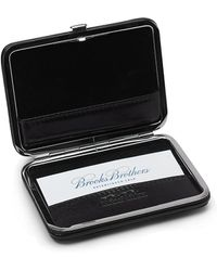 Brooks Brothers Leather Business Card Case - Lyst