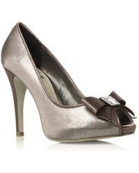 Miss Kg Metallic Court Shoes - Lyst