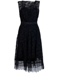 Nina Ricci Lace Dress - Lyst