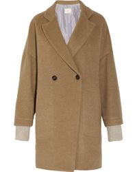 Boy by Band of Outsiders - Oversized Camel Coat - Lyst