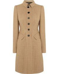 Burberry Prorsum Woolblend Coat - Lyst