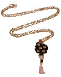 Giles Pendant Necklace gold - Lyst