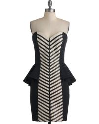ModCloth Ladders and Lasses Dress black - Lyst