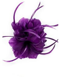 Minuet Petite - Purple Flower Clip - Lyst