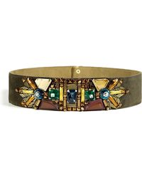 Matthew Williamson  Wide Beaded Belt - Lyst