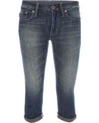 Polo Ralph Lauren Cropped Jeans - Lyst