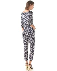 Alice By Temperley - Felicity Leopard Print Jumpsuit - Lyst