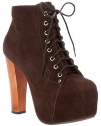 Jeffrey Campbell Lita Ankle Boot - Lyst