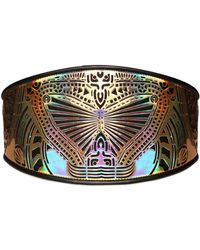 Manish Arora Laser Cut Resin Leather Belt - Lyst