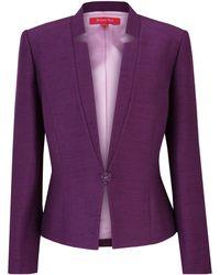 Jacques Vert - Jacques Vert Tailored Jacket Grape - Lyst