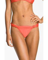 ViX Knot Detailed Bikini Bottoms - Lyst