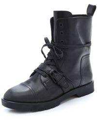 Alexander Wang Daria High Combat Boots - Lyst