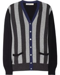 Clements Ribeiro - Striped Cashmere Cardigan - Lyst